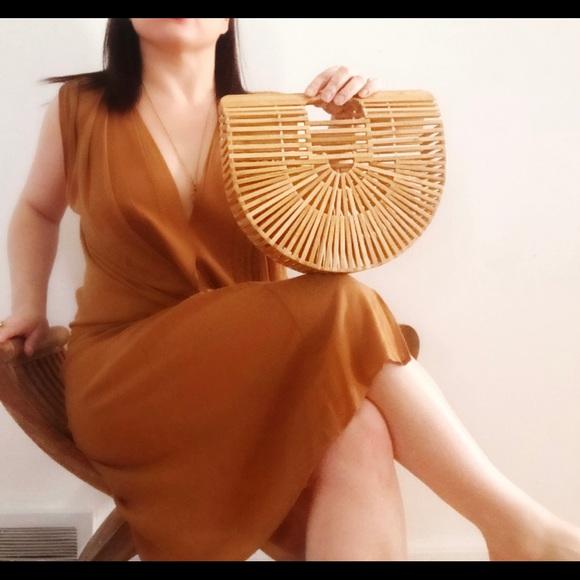 manifesting_maria Handbags - Trendy bamboo handbag. New.